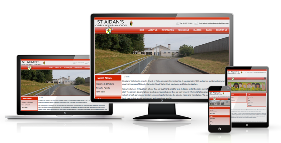 responsive-school-website-design-sheffield