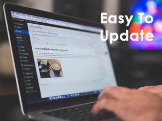 Easy To Update Website